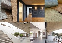 """Papier peint Innovations. Sol """"D House"""" Lode Architecture. Papier peint Innovations. Plafond Villa Hôtel Extramuros, Portugal, Vora Architectura. Kengo Kuma, Architecture Design, Villa, D House, Cork, Renaissance, Innovation, Portugal, Stairs"""