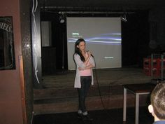 4.04.2012, Cracow: Siła rażenia Social Media: propaganda.   Ania