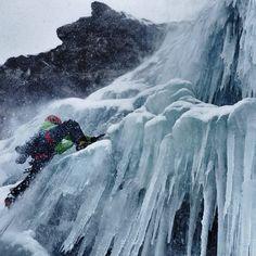 Cogne ice & mixed climbing (photo by Arc'teryx athlete Tanja Schmitt)
