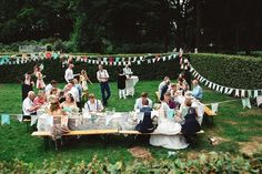 Vlaggetjes Rosemary Rainbird real wedding Lyanne en Rick DIY wedding