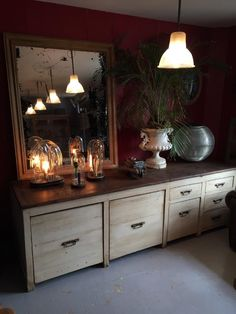 Ancien meuble de metier boulangerie 1950 - Antiquités - Lachaumiere
