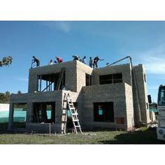 Casas construidas con bloques de cemento casas de for Construccion casas hormigon