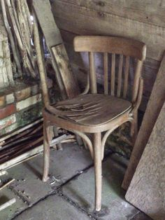 Old chair,  Great Dixter MM