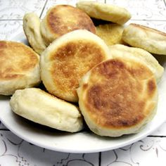 Homemade English Muffins. This recipe received rave reviews~