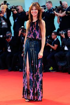 "Venice Film Festival 2014 - Charlotte Gainsbourg in Louis Vuitton R15 at ""3 Coeurs"" premiere"