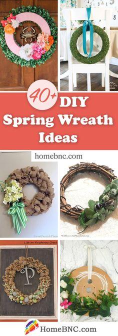 DIY Spring Wreaths Wreath Crafts, Diy Wreath, Wreath Ideas, Home Crafts, Diy And Crafts, Indoor Wreath, Diy Spring Wreath, Easter Wreaths, Diy Craft Projects
