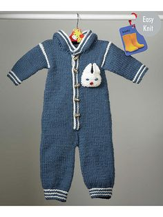 Knit Accessories for Babies & Kids - 4228: Outdoor Suit, Jacket, Hat & Top Knit Patterns