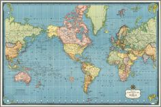 De Luxe Map Library. Hammond. Classics Edition. 1957