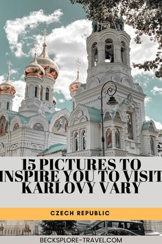 15 pictures to inspire you to visit Karlovy Vary in the Czech Republic #easterneurope Europe Travel Outfits, Europe Travel Tips, Travel Destinations, European Road Trip, Prague Czech Republic, Croatia Travel, Central Europe, Scotland Travel, Nightlife Travel