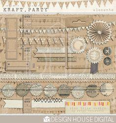 Kraft - Party - Digital Elements