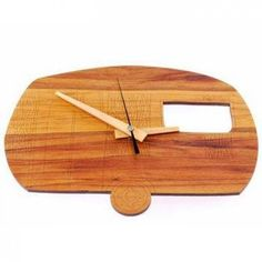 Holiday Time Caravan Clock Holiday Time, Caravan, Wooden Toys, Clocks, New Zealand, Skin Care, Gifts, Shopping, Jewelry