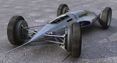 Concept cars and trucks: The Light Dart vehicle concept by Maxime de Keiser - Gigantic Drum brakes :D