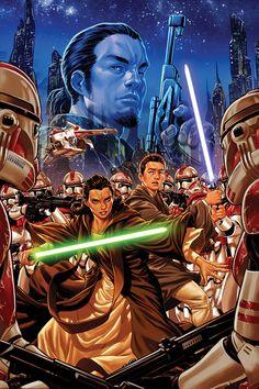 Star Wars: Kanan by Mark Brooks