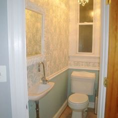1000 images about halfbath on pinterest small bathroom for Half bathroom designs small spaces