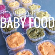 5 homemade baby food combinations your little one will gobble up via @Jen Lula-Richardson