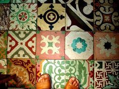 Cuban floor tiles.