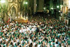 Despedida al santo San Lorenzo Huesca 2015