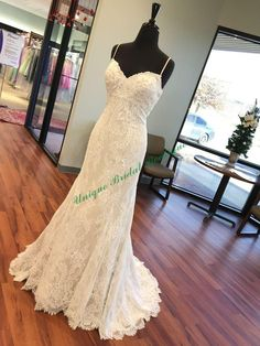 Lace Mermaid Style Wedding Dresses 2016 Elegant Wedding Dresses With Spaghetti Neck And Sweep Train Actual Pictures Fully Lace Mermaid Sexy Bridal Gowns With Sleeveless Mermaid Gowns Wedding From Nicedressonline, $148.64  Dhgate.Com
