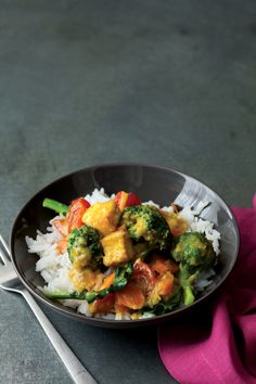 Explore the delicate side of curry with this Vietnamese dish. Lemongrass Curry with Broccoli and Tofu, 3.1 out of 4 based on 10 ratings