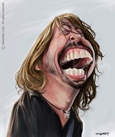 Dave Grohl Nirvana; Foo Fighters; Them Crooked Vultures (my favorite)