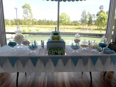 Beautiful table setting for #namingday www.thecelebrant4u.com.au