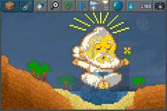 The Sandbox Divinity  #pixelart #sandbox #pixel #art #ios #iphone