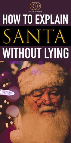 Agonising over how to explain Santa without lying? Want to know what to say about Santa? Explaining Santa to toddlers can be difficult so you want to Peaceful Parenting, Gentle Parenting, Parenting Advice, Kids And Parenting, Funny Parenting, Santa Real, Every Mom Needs, New Parent Advice, Family Values