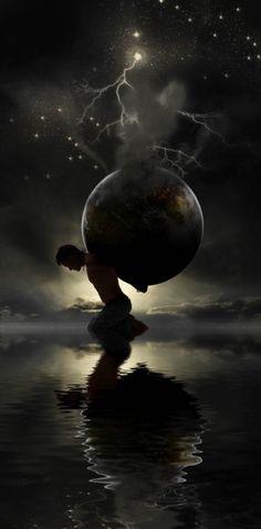 Atlas was the son of the Titan Iapetus & Clymene. He married Pleione who…