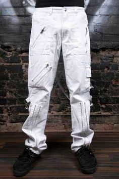 Awesome white Tripp pants (: