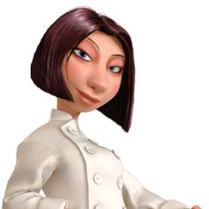 Collette from Ratatouille. Love that movie and her character is so interesting!