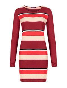 Scoop Neck Striped Tunic | M&S