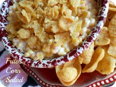 """OF COURSE Paula Deen would put Fritos in a """"salad"""" made entirely of corn and mayo (but hey, I'll totally eat it)"""