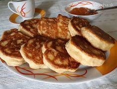 Nadýchané lievance bez kysnutia (fotorecept) - Recept Kefir, Ale, Pancakes, Cooking, Breakfast, Foodies, Basket, Kitchen, Morning Coffee
