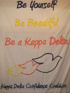 Confidence Coalition Kappa Delta Banner