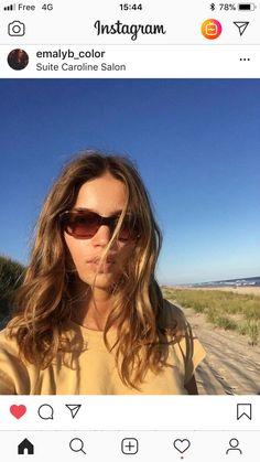 Pilot, Sunglasses Women, Hair Color, Instagram, Fashion, Moda, Haircolor, Fashion Styles, Pilots