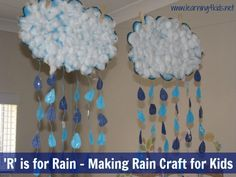 Such a great rain project from Learning 4 Kids. Would be awesome with a weather unit.
