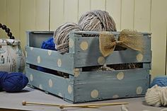 Shabby Boxes, Future House, Toy Chest, Crates, Stencils, Storage, Outdoor, Furniture, Home Decor