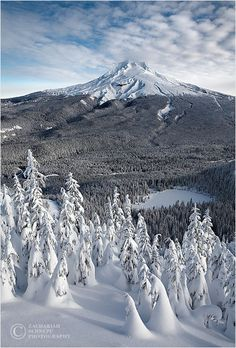 winter, Mt. Hood National Park, Oregon