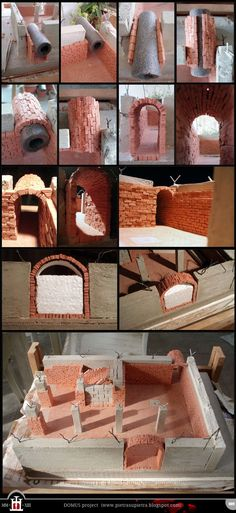 "The pictures in this post are taken from several ""batches"", but I combined them in a natural sequence to show you step by step the making of my bricks. The raw material is DAS clay in terra cotta c..."