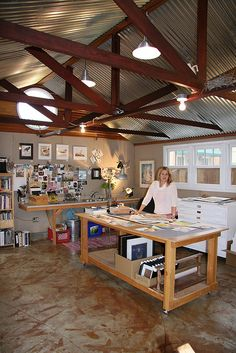 JP Panter in her studio | Flickr - Photo Sharing!