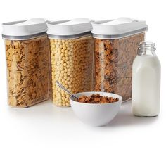 sc 1 st  Pinterest & tupperware cereal container | .:Kitchen:. | Pinterest | Cereal storage Aboutintivar.Com