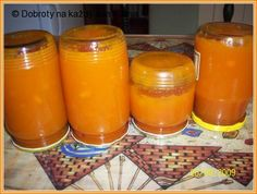 Mrkvovo-citronová marmeláda Baby Food Recipes, Low Carb Recipes, Vegan Recipes, Marmalade Jam, Home Canning, Vegetable Drinks, Sourdough Bread, Healthy Eating Tips, Recipes