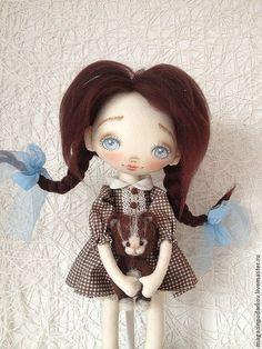 Textile doll Dacha от Monicadolls на Etsy