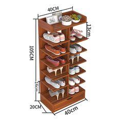 Shoe Rack Hall, Wood Shoe Rack, Diy Rack, Diy Shoe Rack, Shoe Racks, Table Decor Living Room, Living Room Sofa Design, Wooden Pallet Furniture, Home Decor Furniture