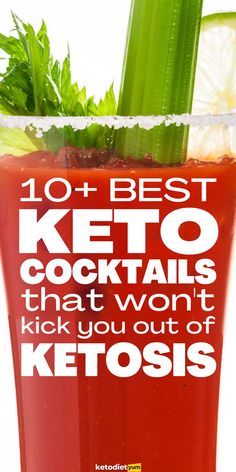 Check out these 10 keto cocktails you can drink on your low carb diet! You don't have to give up alcohol to stay in ketosis, learn how today. Keto Diet Plan, Low Carb Diet, Giving Up Alcohol, Keto Cocktails, Keto Diet Breakfast, Starting Keto, Ketogenic Diet For Beginners, Nutrition Tips, Keto Dinner