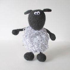 Ravelry: Loopy Sheep pattern by Amanda Berry