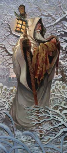 Legend states that Merlin assisted Uther Pendragon in disguising himself to seduce and conceive of Arthur with the Lady Igraine. Once born, Merlin took the babe and fostered him out to be raised by another family, so that Merlin could advise and prepare the future king of Camelot.