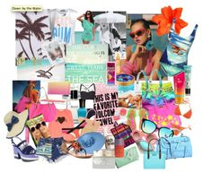 One of my summer style Polyvore collages for @FabFitFun