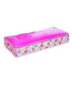 Look what I found on #zulily! Owlphabet Under-Bed Storage Bag by Laura Ashley Home #zulilyfinds