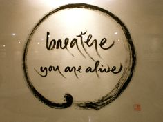 Thich Nhat Hanh calligraphy                                                                                                                                                     More
